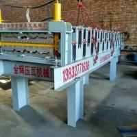 四川成都的店面压瓦机占地小两相电也可以用金辉机械