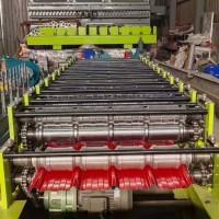 顶配满轮实心轴高速压瓦设备现货供应
