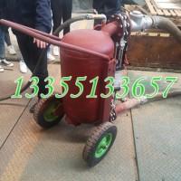 矿用气动清淤排污泵煤泥抽得快 QYF17-20排污泵