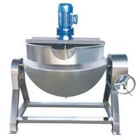 不锈钢蒸汽夹层锅,燃气夹层锅,电加热蒸煮锅生产厂家实体厂家