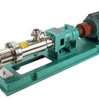 不锈钢卫生螺杆泵,G型螺杆泵,单螺杆泵生产厂家实体厂家