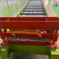 上海红旗压瓦机_狮城楼承板机组_美丽价格可以用50年用不坏的设备